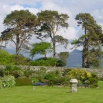 Cruachan from front gdn May