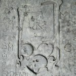 A stone dated 1695 lies in the NW corner of the choir, commemorating Duncan McIntyre and his family.